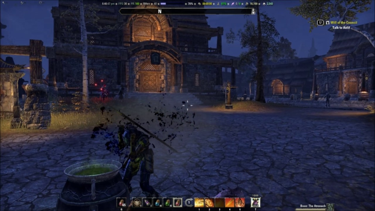 Witches Festival : Quick Update on Elder Scrolls Online