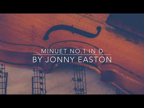 Original Classical Music by Jonny Easton - Minuet No.1 in D - Royalty Free