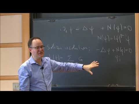 On the long-term dynamics of nonlinear dispersive evolution equations - Wilhelm Schlag
