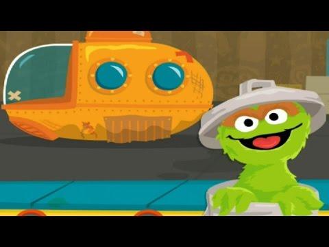 Sesame Street - Oscars Rotten Ride - Best Kids Game 2015