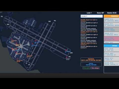 San Francisco Airport Ground Control | atcradarsim