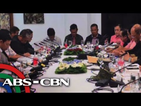 Bandila: Duterte, nakipagpulong sa gabinete sa Davao City