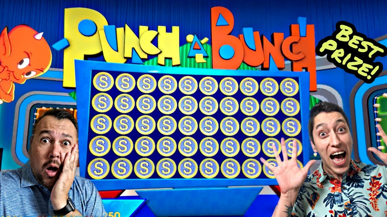 NEVER Take The OFFER When IT SAYS TO PASS! BEST PRIZE On The Price Is Right PUNCH A BUNCH BONUS