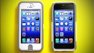Otterbox Defender for iPhone 5 & Otterbox Commuter for iPhone 5 (Unboxing & Review)