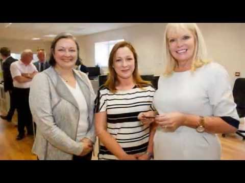 Minister Mary Mitchell O'Connor visit to the Junction, Offaly Innovation & Design Centre
