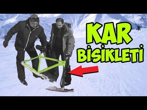 Kar Bisikleti Yaptık