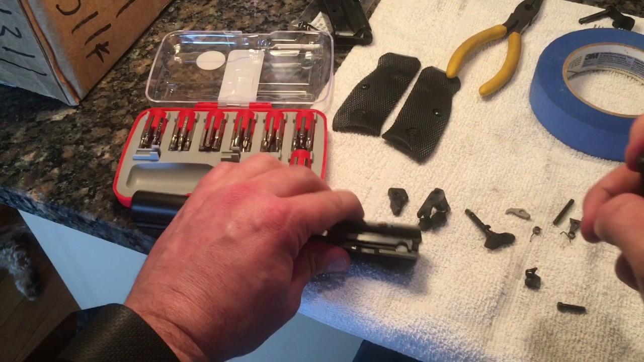 Cajun Gun Works Pro Package CZ SP01 Tactical Installation