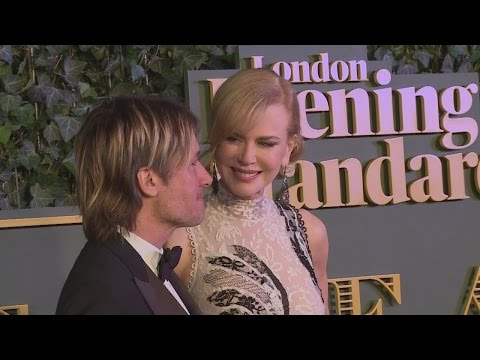 Nicole Kidman and Salma Hayek wow at Evening Standard Theatre Awards