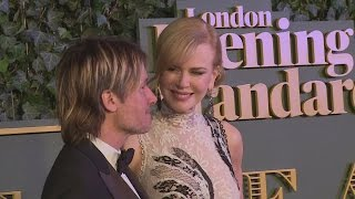 Nicole Kidman and Salma Hayek wow at Evening Standard Theatre Awards
