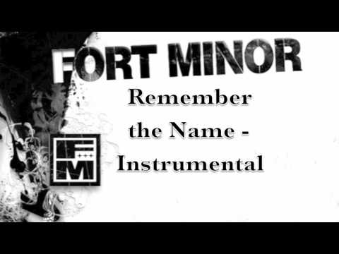 Fort Minor  Remember the Name  Instrumental
