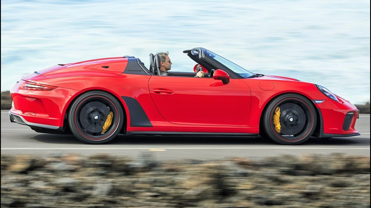 Porsche 911 Speedster Lightweight Sports Car Limited To 1 948 Units Youtube