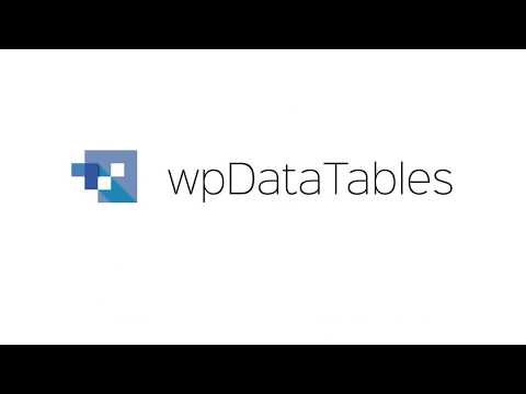 Creating editable tables - wpDataTables - Tables and Charts