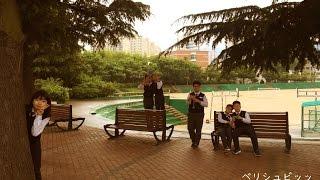 韓国で日本語の勉強をしている小学生たちです。0-0/ 韓国で毎年開催され...