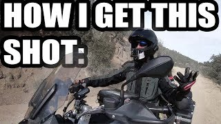 How to Make Better Motorcycle Travel Videos  - Different GoPro Mount Ideas