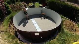 Montáž bazéna