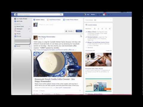 Facebook Tip: Saved Links