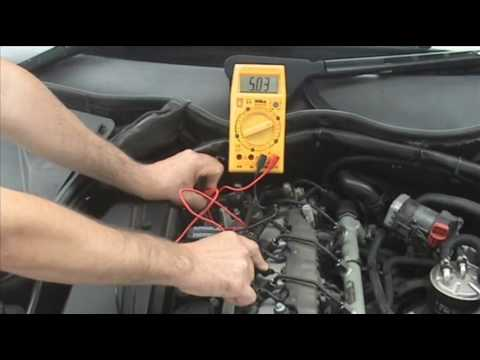 Testing CAM or CamShaft Position Sensor Hall Effect Type - YouTube