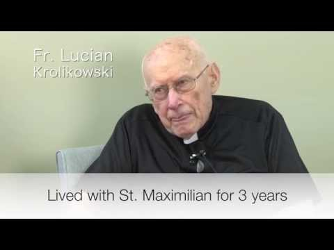 I lived With St. Maximilian Kolbe