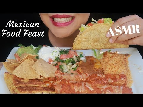 ASMR – Mexican Food Feast – Eating Sounds