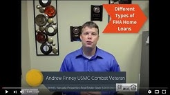 Different Types of FHA Home Loans