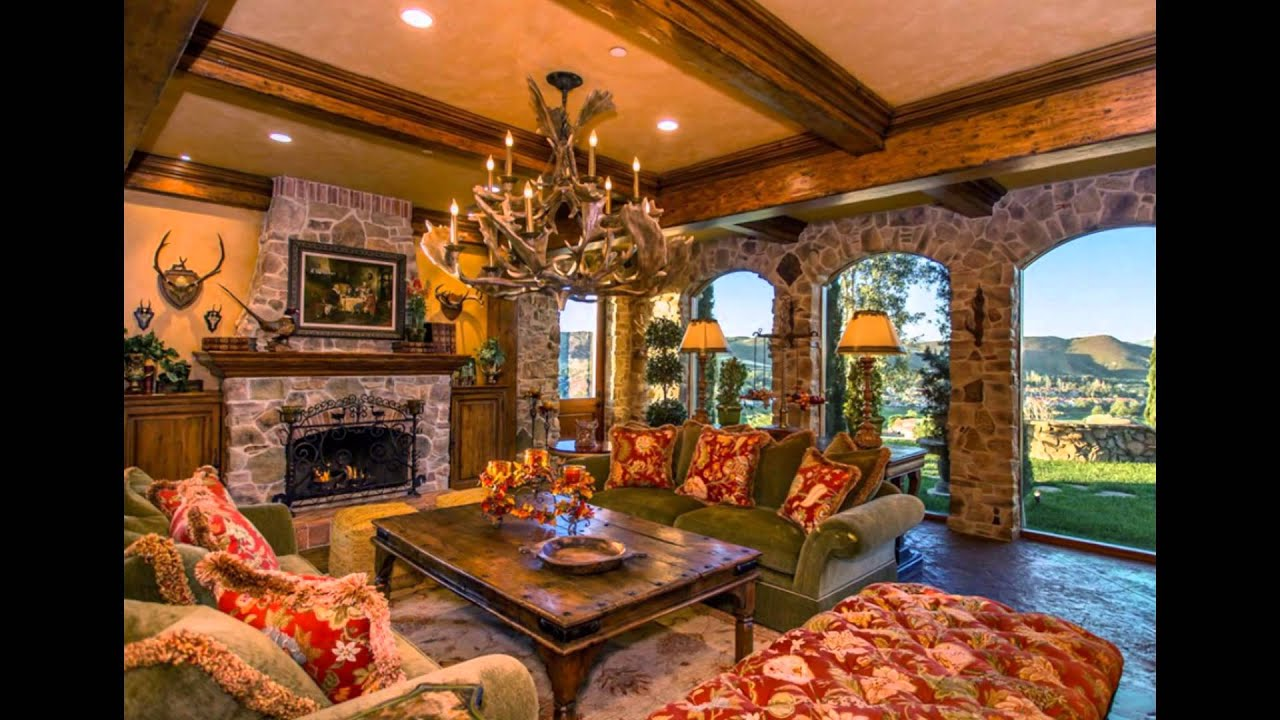 Fresh Tuscan Family Rooms Ideas And Design For Your Home