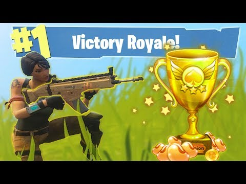 HOW TO WIN ON FORTNITE