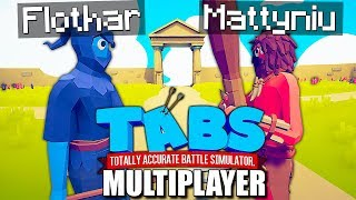 GRAMY W TABS MULTIPLAYER! FLOTHAR vs MATTYNIU | TOTALLY ACCURATE BATTLE SIMULATOR PL