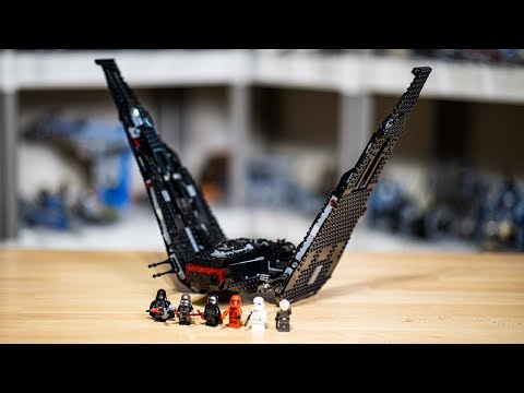 Lego Star Wars 2019 Kylo Ren S Shuttle Review 75256 Youtube