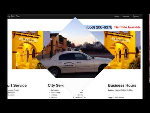 Burlingame taxi cab