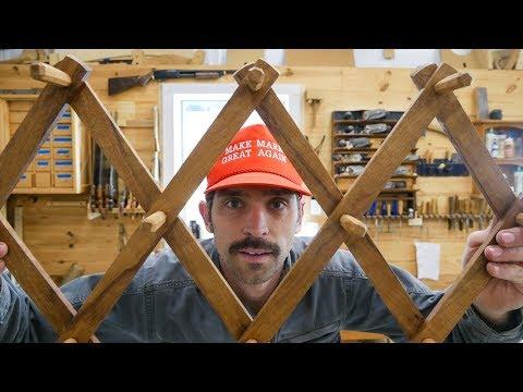Making An Accordion Hat Rack
