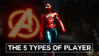 Spider-Man (PS4) - the 5 Types of Players