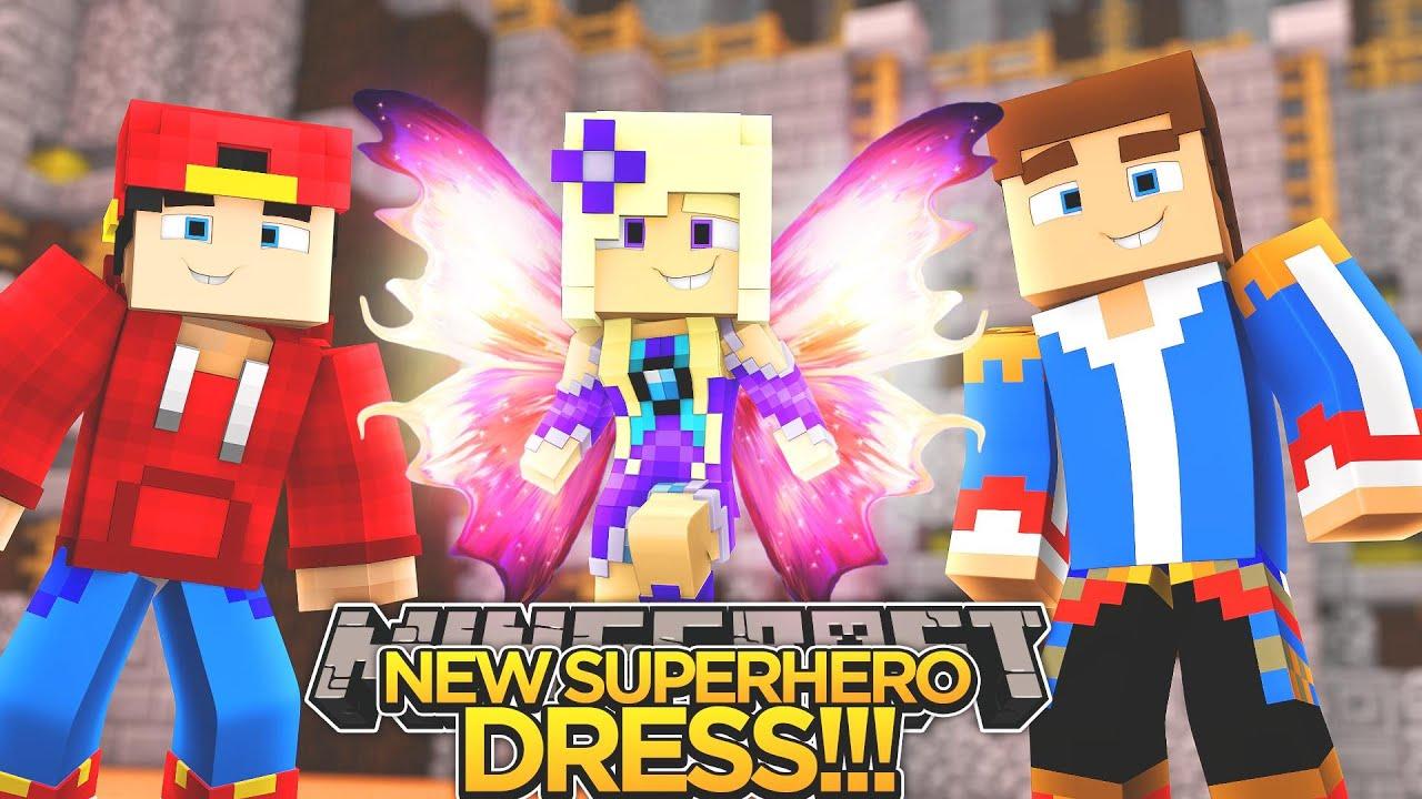 Baby Angel S New Superhero Dress Minecraft Little