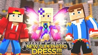 BABY ANGEL'S NEW SUPERHERO DRESS!!! - Minecraft - Little Donny Adventures.