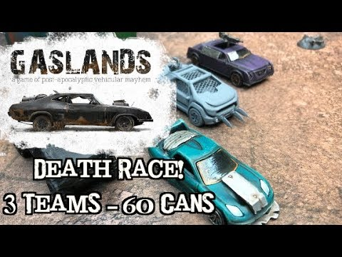 Gaslands Ep 07 - 3 Player Death Race!