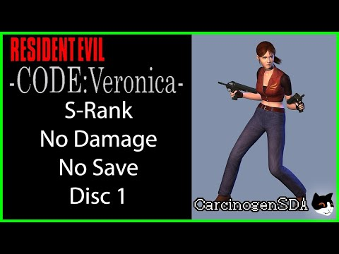 Resident Evil: Code: Veronica (Dreamcast) - S-Rank No Damage - Disc 1 (Part 1)