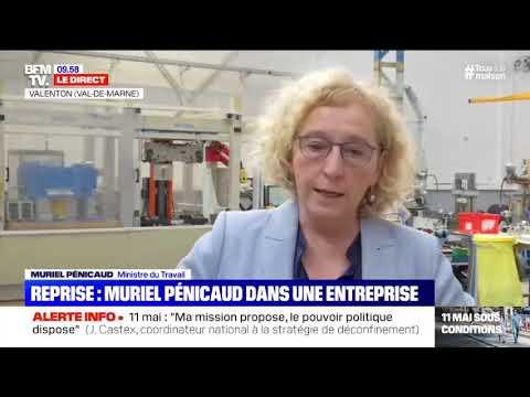 Déplacement Muriel Pénicaud et Laurent Saint-Martin dans le Val-de-Marne | Entreprises Alkan