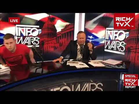 Breaking News: Alex Jones Live Meltdown Over Syria Strike