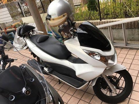 ホワイトナイト マフラーサウンドを聞け 2012・HONDA・PCX125 2012・ホンダ・PCX125 Personal Comfort Xaloon 京都 可愛いマジェ
