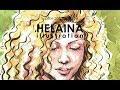 Watercolour Illustration - Helaina