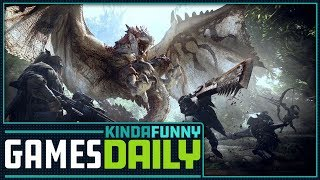 Monster Hunter World PC Release Date - Kinda Funny Games Daily 07.09.18