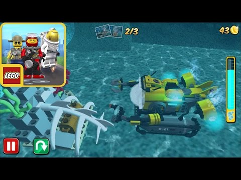 LEGO City My City - Lego Deep Sea Explorers | LEGO Helicopter - gameplay Walkthrough ios/android