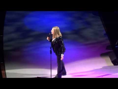 Barbra Streisand Woman in Love/ No More Tears O2 Arena London 1st June 2013