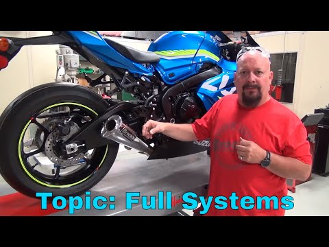 2017 GSX-R1000 S2B: Episode 4 - Exhaust Installation and Theory (Part 3): Full Exhaust Systems