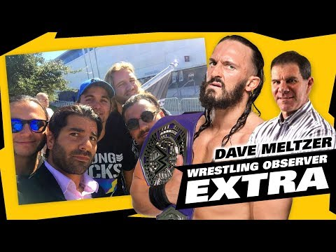 Dave Meltzer on Jimmy Jacobs Bullet Club Selfie, Neville WWE Update   The LAW