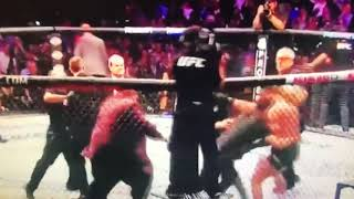 Conor McGregor Gets ATTACKED By Khabib's Team After The Fight!