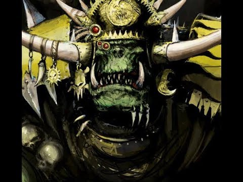 40k Orks list building and tactics 8th edition