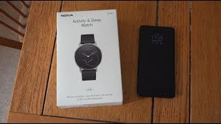 Nokia Steel Affordable Smartwatch & Fitness Tracker!