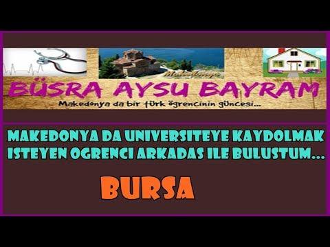MAKEDONYA DA ÜNİVERSİTE KAYDI 2  | Bursa Da Öğrencimle Buluştum