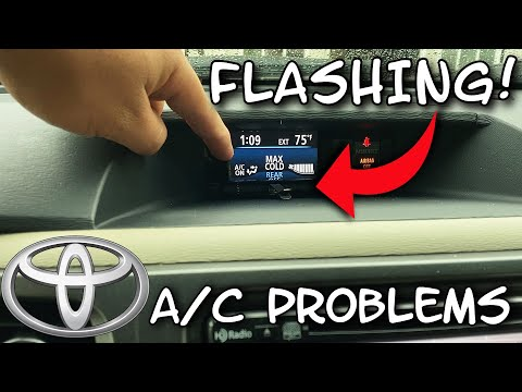 TOYOTA SIENNA A/C NOT BLOWING COLD DIAGNOSIS & FIX