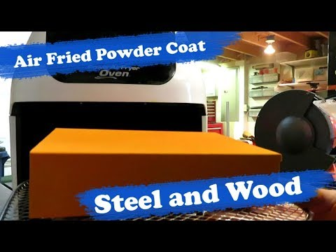 Power AirFryer Oven - Can it Bake Powder Coat on Metal and Wood (MDF)?